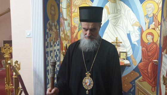 Епископ милешевски Атанасије, фото: А.Ровчанин