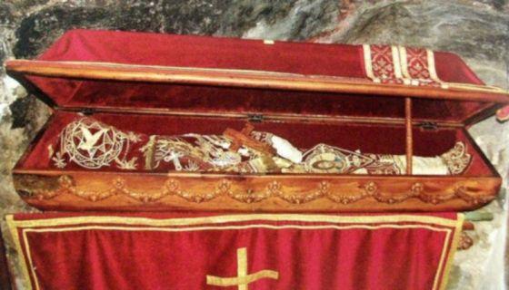 Мошти Светог Василија Острошког, фото: сајт Епархије милешевске