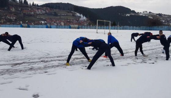 Фудбалери Златара почели припреме за наставак првенства,