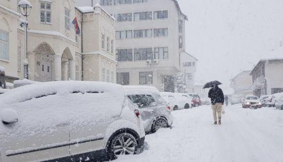 Фебруарски снег у Новој Вароши, фото: А.Ровчанин