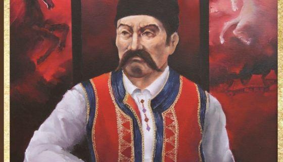 Сердар Мићић, слика Радомира Верговића из Ужица (Фото: Библиотека)