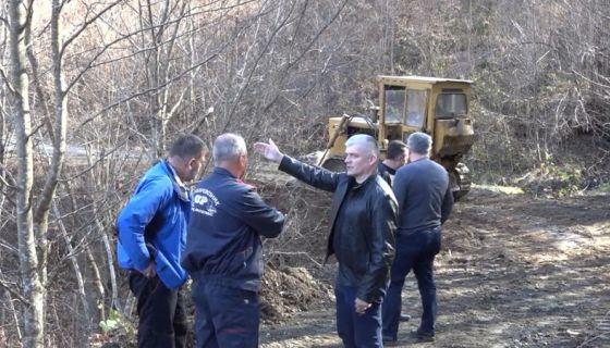 Пробијање пута у Прибојско село, Фото: Горан Рековић