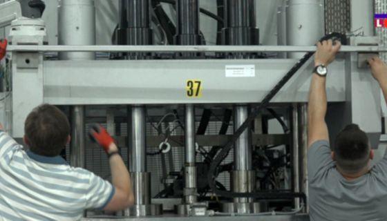 Почела монтажа машина, фото: Инфо лига