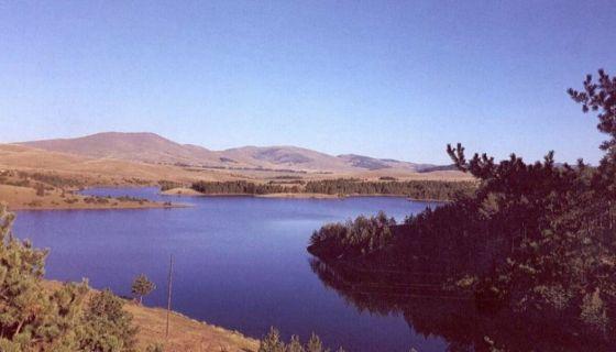 """Језеро на Црном Рзаву у Рибници, Фото из Књига """"Неимари туризма златиборског"""""""