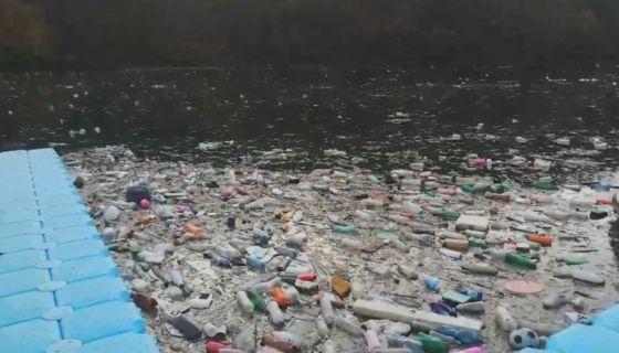 Отпад плови Лимом, фото:А.Ровчанин