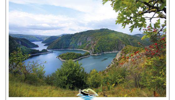 Царује дивљина  - поглед на Увачко језеро из Буковика (Фото: Станко Костић)