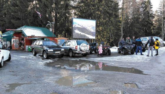 Туристичка понуда на екрану, испред Панораме,  (Фото: Д.Гагричић)