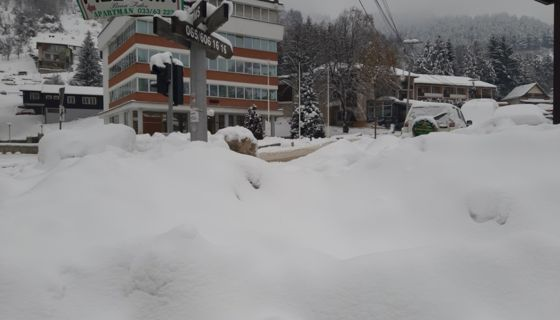 У Новој Вароши уведена ванредна ситуација због снега, Фото: ГЗС