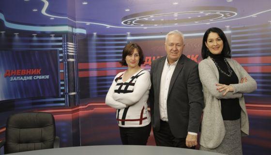 Дневник Западне Србије крече 15. фебруара