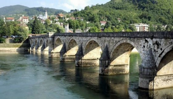Мост Mехмед-паше Соколовића на Дрини,у Вишеграду (Фото: О. Радошевић
