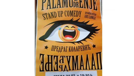 """Плакат - Комедија  """"Паламудрење и паламудређе"""""""
