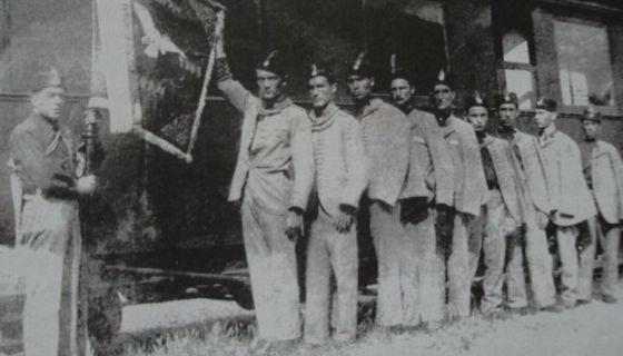 Слет - Соколи по повратку из Пожеге, Фото Приватна архива