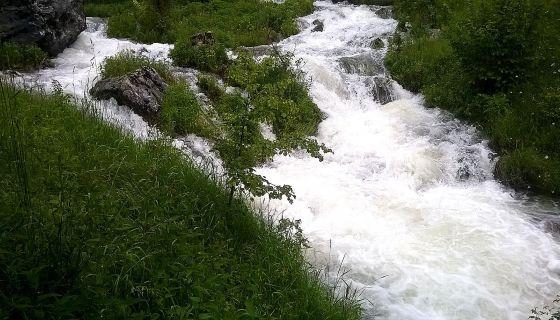 Врело Трудовачке реке ( Фото: Д. Гагричић)