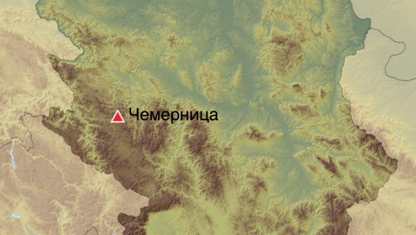 Чемерница (мапа)