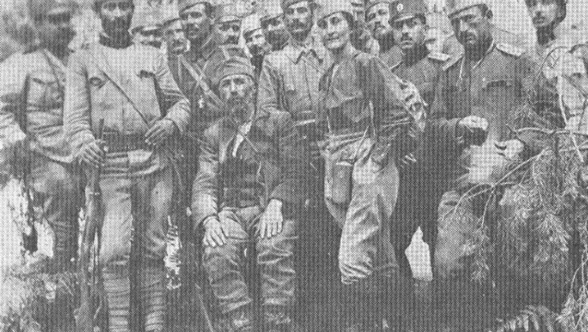 Учитељица Љубица Пурић међу Солунцима на Кајмакчалану, 1918. године - Нововарошки крај у Великом рату