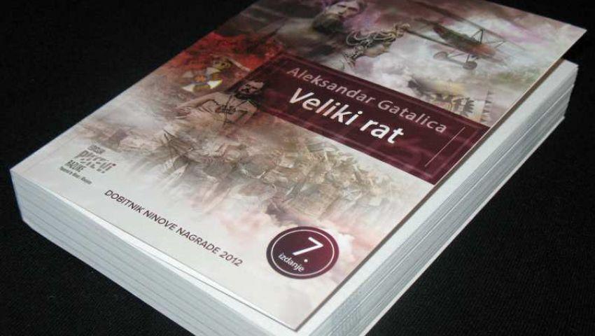 """Promocija knjige """"Veliki rat"""" Aleksandra Gatalice"""