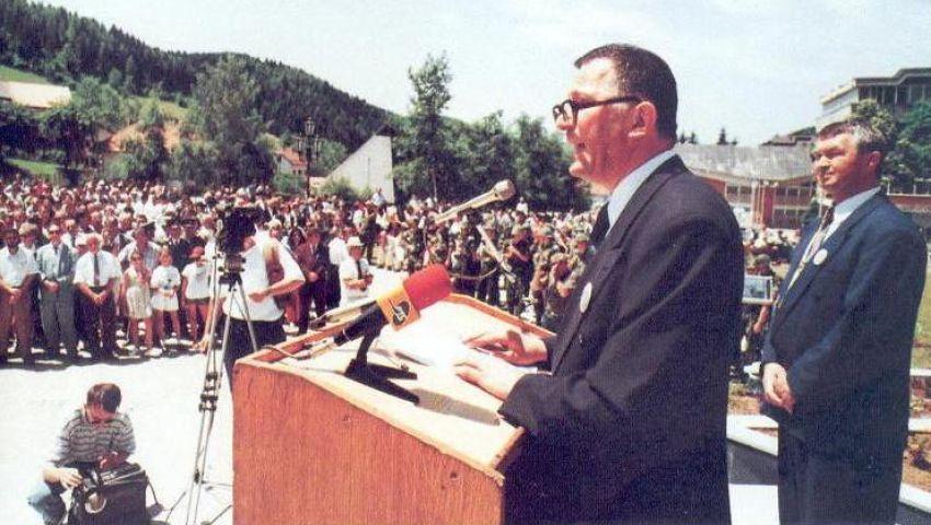 8  Narodna svetkovina - spomenik vojvodi Petru Bojovicu otkrio je prof. dr Ratko Markovi