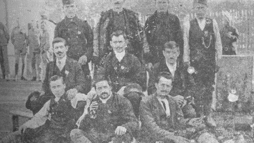 Нововарошани 1916. године у логору у Аустрији - Нововарошки крај у Великом рату