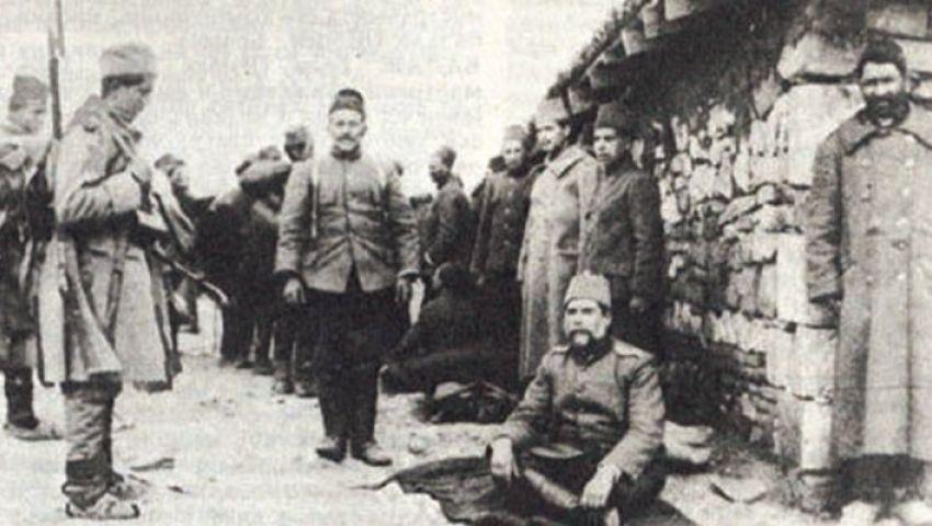 Отоманска империја бачена на колена - заробљени турски војници 1912. године